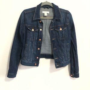 H&M Dark Wash Denim Jacket